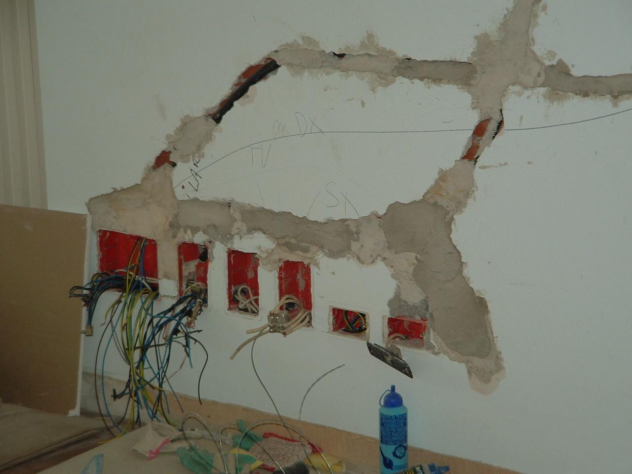 modifiche ed adeguamento impianto elettrico appartamento
